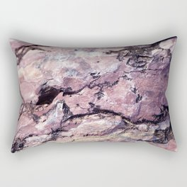 Rock Texture Rectangular Pillow