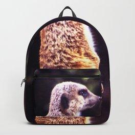 What's Up Meerkat? Backpack