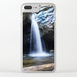 Waterfall at Cascade Falls Clear iPhone Case