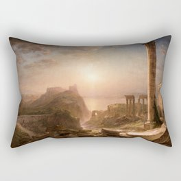Frederic Edwin Church - Syria by the Sea - Hudson River School Oil Painting Rectangular Pillow