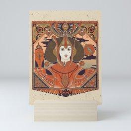 """Red Queen - Padme Amidala"" by Cassidy Rae Marietta Mini Art Print"