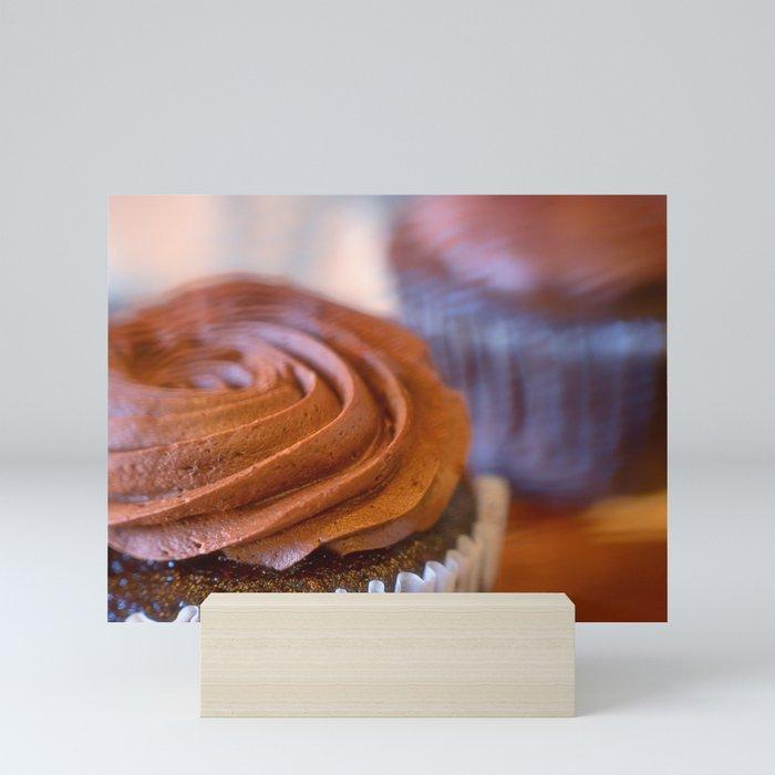 Sweet Dreams Chocolate Cupcakes Mini Art Print