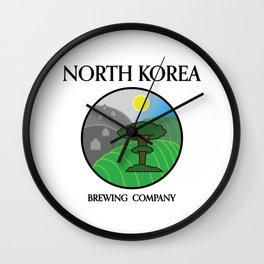 North Korea Brewing Company Wall Clock