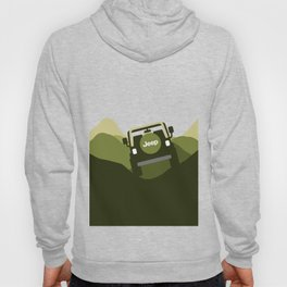 Jeep 'Driving' Green Mountain Hoody