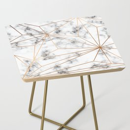 Marble & Gold 046 Side Table