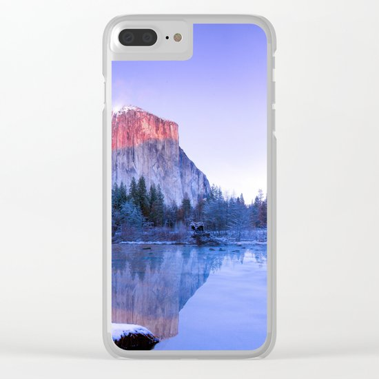 Lake Landscape #photography #society6 #photography Clear iPhone Case