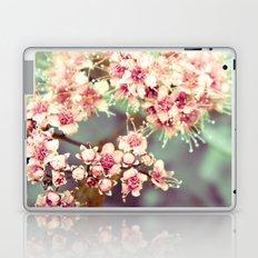 Flowers in Peach Laptop & iPad Skin