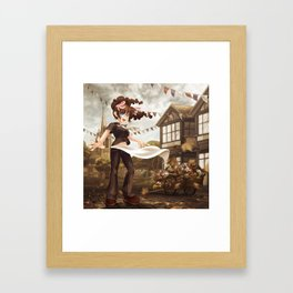 Cast Your Fête to the Wind Framed Art Print