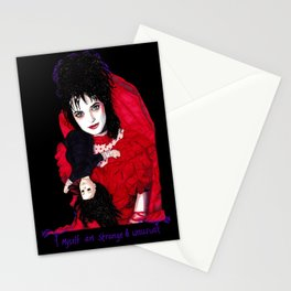 Lydia Deetz - Strange & Unusual Stationery Cards