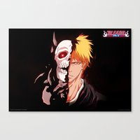 bleach Canvas Prints featuring Bleach poster by Tremblax1