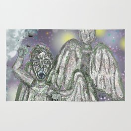 don't blink weeping angels Rug