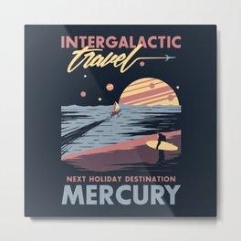 Intergalactic Travel Metal Print