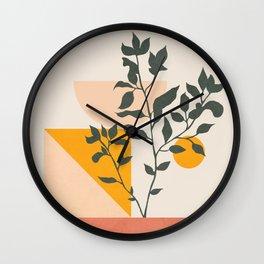 Geometric Modern Art 43 Wall Clock