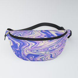 Purple marble with raspberry tint Fanny Pack
