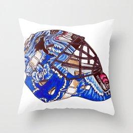 Joseph - Mask Throw Pillow