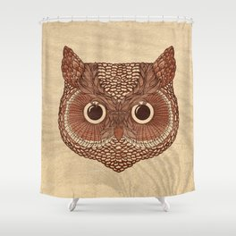 Owlustrations 2 Shower Curtain