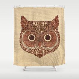 Owlustrations 2 Shower Curtain