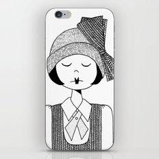Flapper Girl iPhone & iPod Skin