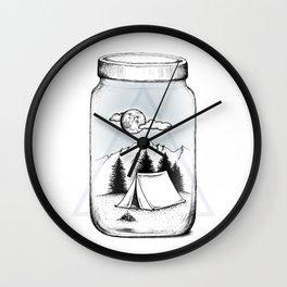 New Adventures Wall Clock