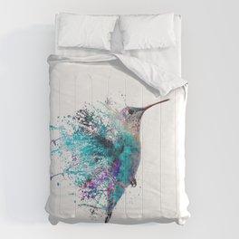 HUMMING BIRD SPLASH Comforters