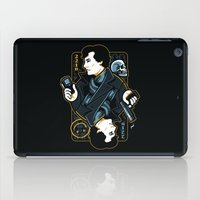 221b iPad Cases featuring The Detective of 221B by WinterArtwork