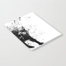 wet dog Notebook
