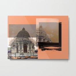 Venezia Composition by FRANKENBERG Metal Print