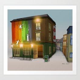 London Colors Art Print