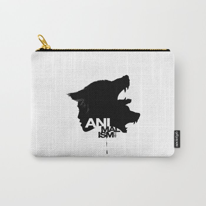 Wolf Kind Carry-All Pouch