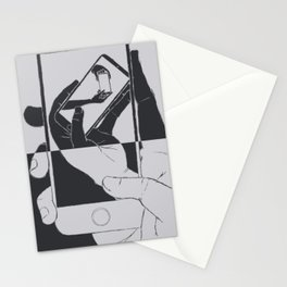 iFail Silver + Black inverse (Picture This!) Stationery Cards