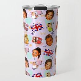 Spice Girls pattern art Travel Mug