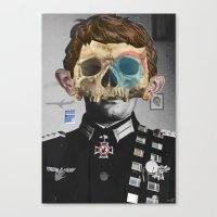 war Canvas Prints featuring War Collage 2 by Marko Köppe