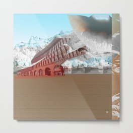 atmosphere 3 · The Ice Kiss Metal Print