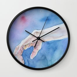 Hand of ballet-dancer Wall Clock