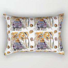 otoño Rectangular Pillow