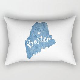 Baxter State Park, Maine Rectangular Pillow