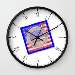 Stars And Stripes Condom Wall Clock