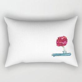 Sub Rosa Pun Rectangular Pillow