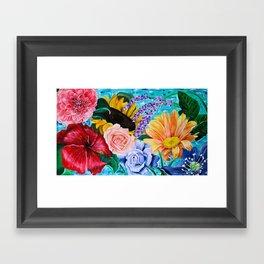 Botanical Gardens Framed Art Print