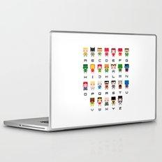 Superhero Alphabet Laptop & iPad Skin