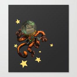 Spacemonkey! Canvas Print