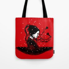 Geiko Poetry Tote Bag