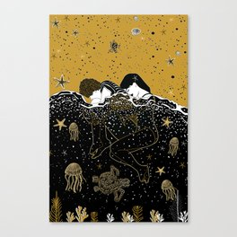 drown in your love Canvas Print