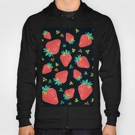 Strawberries   Black Hoody