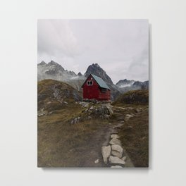 The Mint Hut - Hatcher Pass, AK Metal Print