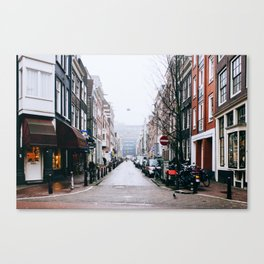 Grachtengordel - Amsterdam, The Netherlands - #5 Canvas Print