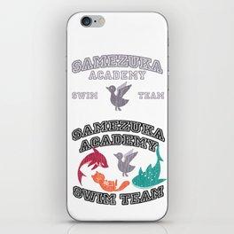 Samezuka - Duck iPhone Skin