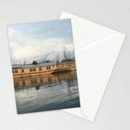 Houseboat on Dal Lake Stationery Cards