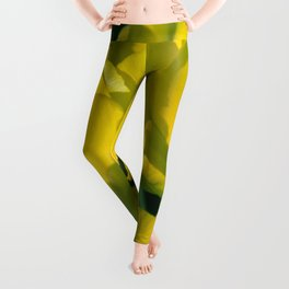 Yellow Tulips Leggings