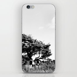 No silver lining iPhone Skin